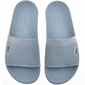 Product Image for Lacoste Croco Sliders Blue