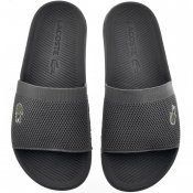 Product Image for Lacoste Croco Sliders Black