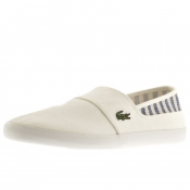 Product Image for Lacoste Marice Plimsoll White