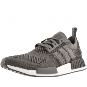 adidas NMD R1 Prime Knit Trainers Grey
