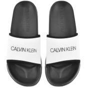 Calvin Klein Sliders White