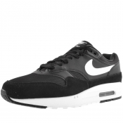 Nike Air Max 1 Trainers Black