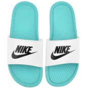 Nike Benassi JDI Sliders Green