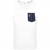 Product Image for Luke 1977 Dance Vest T Shirt White
