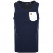 Product Image for Luke 1977 Dance Vest T Shirt Navy