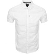 Product Image for Luke 1977 Short Sleeved Wockneys Pencil Shirt Crea