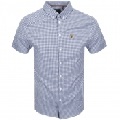 Product Image for Luke 1977 Short Sleeved Jimmy Shirt Navy