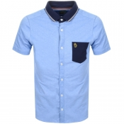 Luke 1977 Albion Polo T Shirt Blue