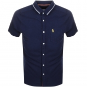 Luke 1977 Albion Polo T Shirt Navy