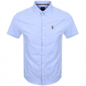 Luke 1977 Short Sleeved Jimmy Shirt Blue