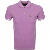 Luke 1977 New Mead Polo T Shirt Purple