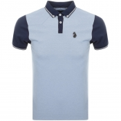 Product Image for Luke 1977 Steve The Bouncer Polo T Shirt Blue