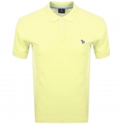 Product Image for PS By Paul Smith Zebra Polo T Shirt Yellow