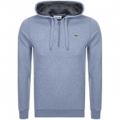 Product Image for Lacoste Sport Half Zip Hoodie Blue