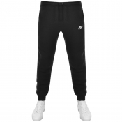 Product Image for Nike Tapered Fit Club Jogging Bottoms Black