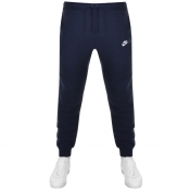 Nike Tapered Fit Club Jogging Bottoms Navy