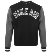 Product Image for Nike Air Crew Neck Sweatshirt Black
