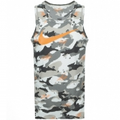 Product Image for Nike Training Swoosh Logo Vest T Shirt Green