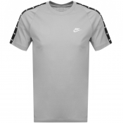 Product Image for Nike Swoosh 2 Logo T Shirt Grey