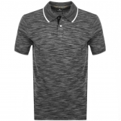 PS By Paul Smith Regular Fit Polo T Shirt Black