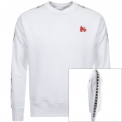 Money Sig Link Crew Neck Sweatshirt White
