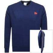 Product Image for Money Sig Link Crew Neck Sweatshirt Navy