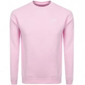 Product Image for Nike Crew Neck Club Sweatshirt Pink