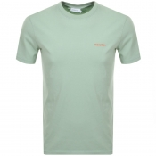 Product Image for Calvin Klein Small Logo T Shirt Green