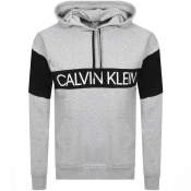 Product Image for Calvin Klein Logo Pullover Hoodie Grey
