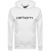 Product Image for Carhartt Logo Hoodie White