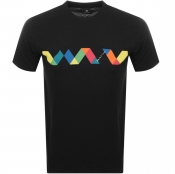 Product Image for PS By Paul Smith Multi Spiral T Shirt Black