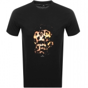 Product Image for PS By Paul Smith Skull T Shirt Black