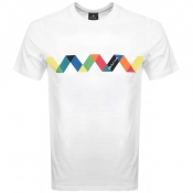Product Image for PS By Paul Smith Multi Spiral T Shirt White