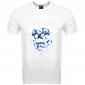 Product Image for PS By Paul Smith Skull T Shirt White