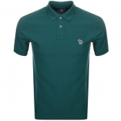 Product Image for PS By Paul Smith Zebra Polo T Shirt Green