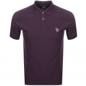 Product Image for PS By Paul Smith Zebra Polo T Shirt Purple
