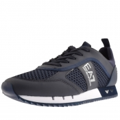 Product Image for EA7 Emporio Armani Logo Trainers Navy