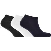 Product Image for Lyle And Scott Three Pack Socks Navy