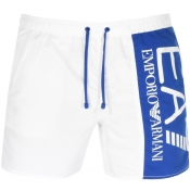 Product Image for EA7 Emporio Armani Visibility Swim Shorts White