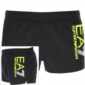 EA7 Emporio Armani Colour Block Swim Shorts Black