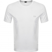 BOSS HUGO BOSS Crew Neck T Shirt White