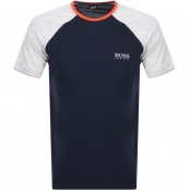 BOSS HUGO BOSS Balance Crew Neck T Shirt Navy