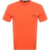BOSS HUGO BOSS Crew Neck T Shirt Orange