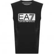 Product Image for EA7 Emporio Armani Visibility Vest T Shirt Black