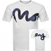 Money Camo Sig Ape Logo T Shirt White