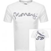 Money Chrome Sig Ape T Shirt White