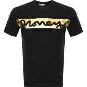 Money Block Sig T Shirt Black