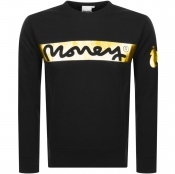 Money Block Sig Ape Logo Sweatshirt Black