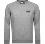 Puma Essential Crew Neck Sweatshirt Grey