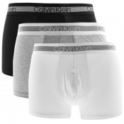 Calvin Klein Underwear Triple Pack Trunks Grey